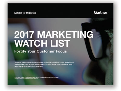 2017 marketing watch list